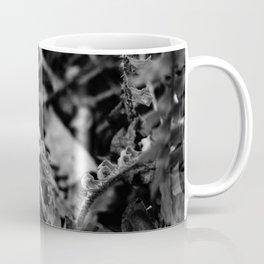 The Fiddlehead in Black and White Coffee Mug