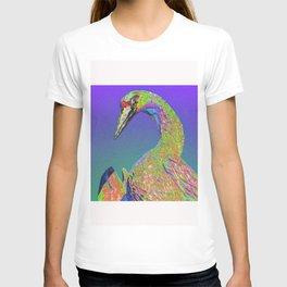 Windowpane Crane T-shirt