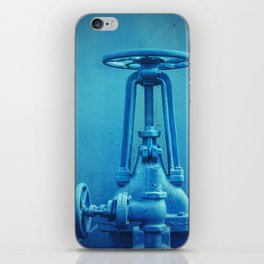 Blue Valves iPhone Skin