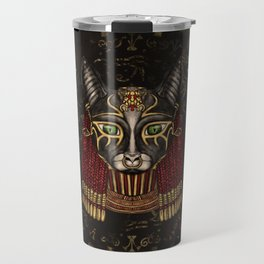 Bastet Egyptian Goddess Travel Mug