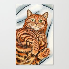 Ginger Cat Canvas Print