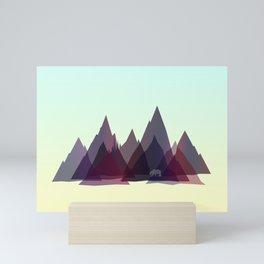 Mountains Spirit v2 Mini Art Print