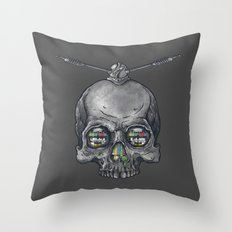 Dead Signal Throw Pillow