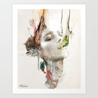 archan nair Art Prints featuring Morning Chorus by Archan Nair