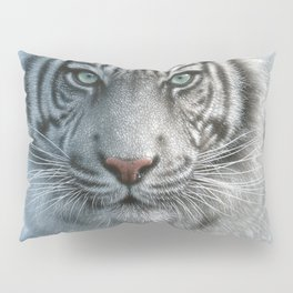 White Tiger - Wild Intentions Pillow Sham