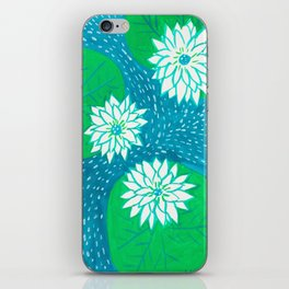 Water Lillies iPhone Skin