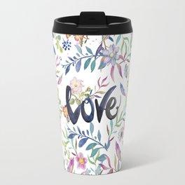 Love flowers Travel Mug