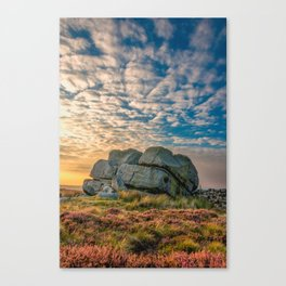 Sunset by Hitching Stone Canvas Print