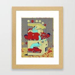 Game Box Framed Art Print