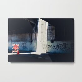 I feel better being closed Metal Print