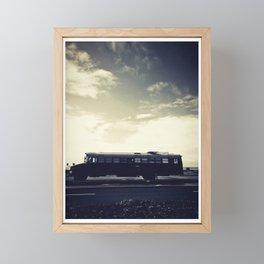 we bus Framed Mini Art Print