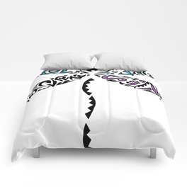 Tribal Dragonfly Comforters