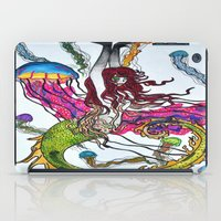 siren iPad Cases featuring Siren by Labartwurx