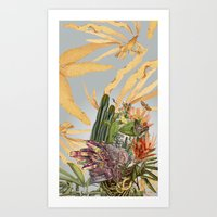 kakteen original anatomical collage by bedelgeuse Art Print