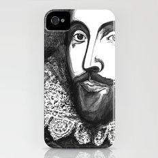 William Shakespeare Portrait - The Tudor Illustration Series iPhone (4, 4s) Slim Case