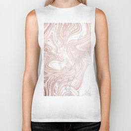 Rose Gold Wind Biker Tank