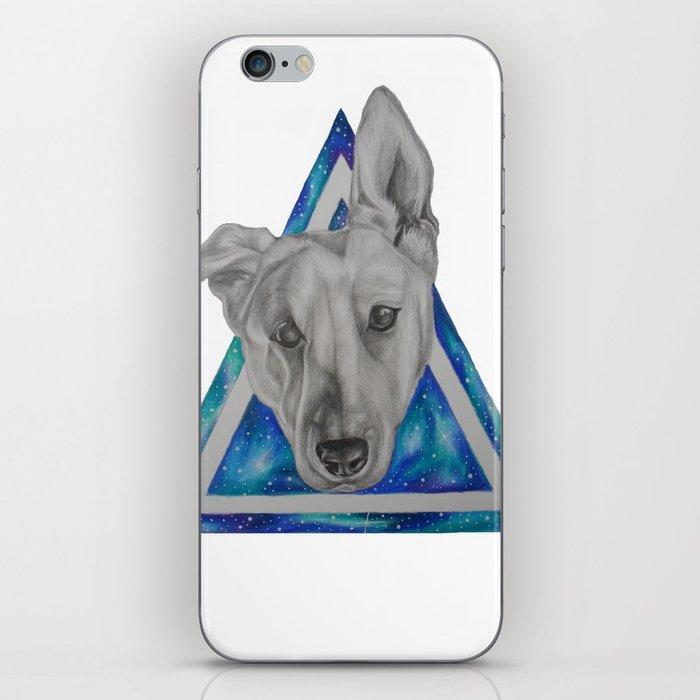 Galaxy Dog iPhone Skin