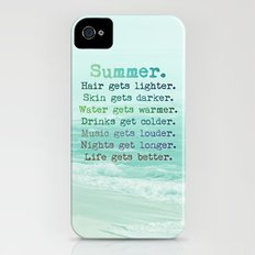 SUMMER iPhone (4, 4s) Slim Case