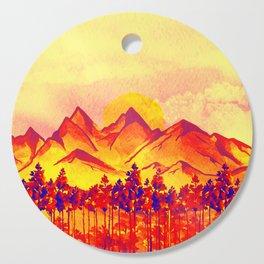 Landscape #05 Cutting Board