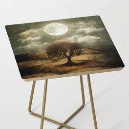 Once upon a time... The lone tree. Side Table