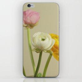 ranunculus iPhone Skin