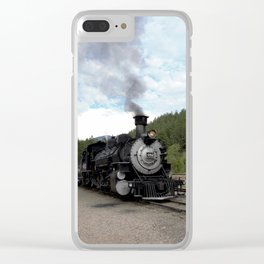 Engine No. 482 at the Rockwood Depot Clear iPhone Case