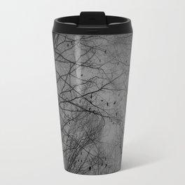 Tree of black Travel Mug