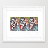 novelty Framed Art Prints featuring Novelty, No Talent, or Hack? by AcerbicAndrewArt