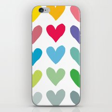 Heart pattern art  iPhone & iPod Skin