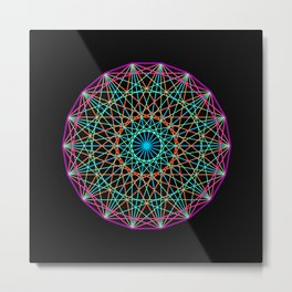 Sacred geometry Metal Print