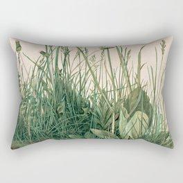 The Large Piece of Turf  Rectangular Pillow