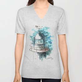Lighthouse #2 Unisex V-Neck