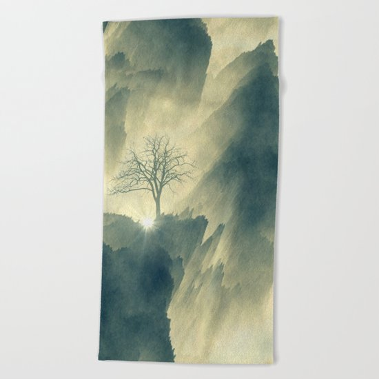 Promise of the New Light Beach Towel