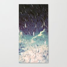 Swimming in your ocean Canvas Print