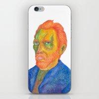 van iPhone & iPod Skins featuring Van  Gogh by gunberk