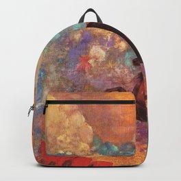 "Odilon Redon ""Muse on Pegasus"" Backpack"
