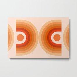 Abstraction_SUN_Rainbow_Minimalism_006 Metal Print