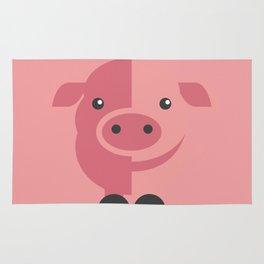 Mr. Piggy Rug