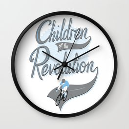 Children Of The Revolution  Wall Clock