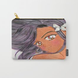 Blushing Butterfly Klip Carry-All Pouch