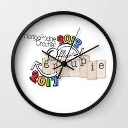 Fall Groupie 2017 Wall Clock