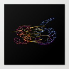 S6 Light-Painted Canvas Print