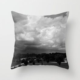 Dark Days: Approach Throw Pillow