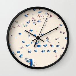 Bondi Brellas Wall Clock