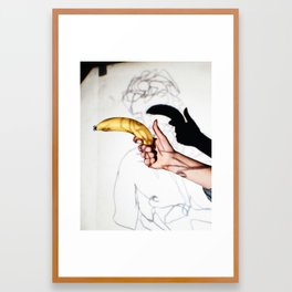 You're under arrest Framed Art Print