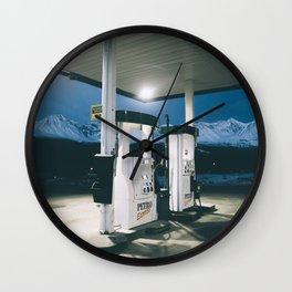 Yukon Gas Station Wall Clock