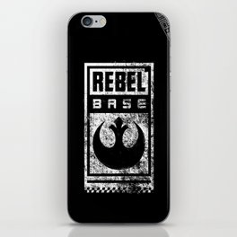 Rebel Base iPhone Skin