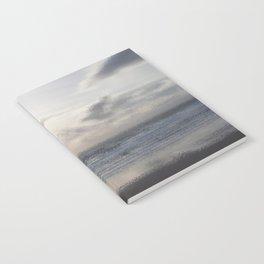 Silver Scene ~ Ocean Ripple Effect Notebook