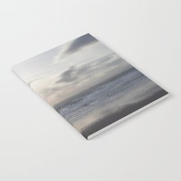 Silver Scene ~ Ocean Ripple Effect Notebook