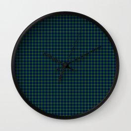 MacNeil Tartan Wall Clock